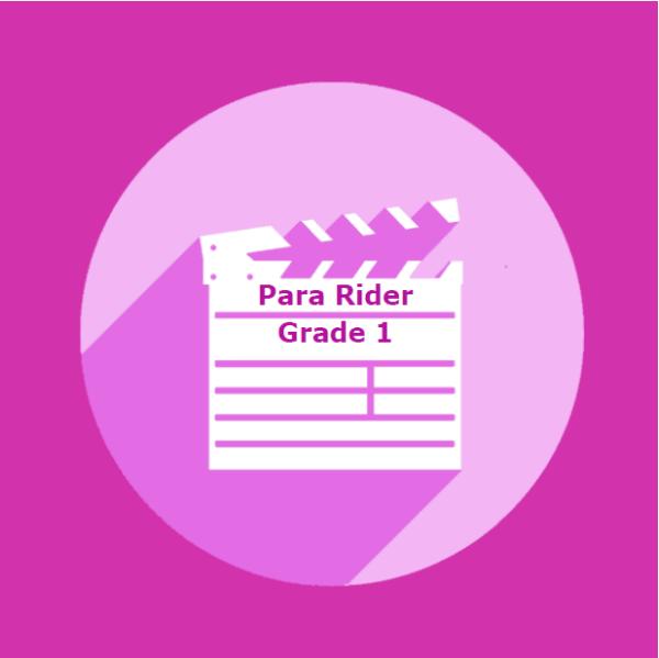 Para Rider Dressage - Grade 1