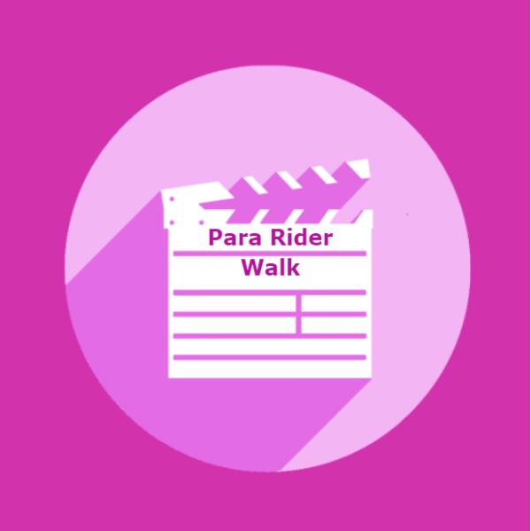 Para Rider - Walk